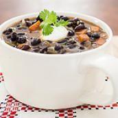 Sopa Cubana de Frijoles | ChopChop