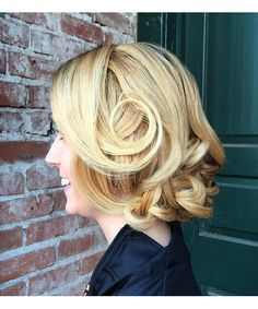 Classic Glamour Updo Hairstyles.