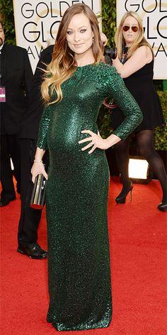 Olivia Wilde - 2014 Golden Globes: Red Carpet Arrivals - Golden Globes 2014 - Celebrity - InStyle