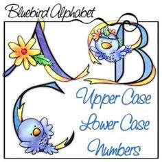Bluebird Alphabet