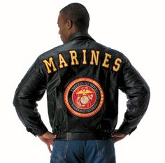 Marine Corps Leather Jacket – Barre Army/Navy Store Online Store