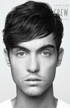 Men's Extra Angular Fringe Haircut