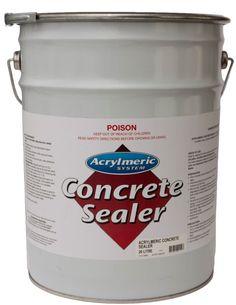 Concrete Sealer Clear