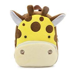 62133bdf15 2017 Plush Children Backpacks Kindergarten Schoolbag 3D Cartoon Monkey  Animal Kids Backpack Children School Bags for Girls Boys