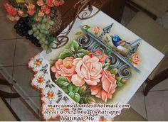 Artes em Crochê e Pintura