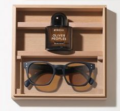 Byredo + Oliver Peoples - Byredo will launch a collaborative fragrance and pair of sunglasses with luxury eyewear brand Oliver Peoples.  The Byredo + Oliver Peoples fragrance was developed by perfumer Jérôme Epinette. The scent, developed after viewing Los Angeles locations through various colored lenses, features juniper berries, lemon, orris, patchouli fraction, musks, warm sand accord and helichrysum.