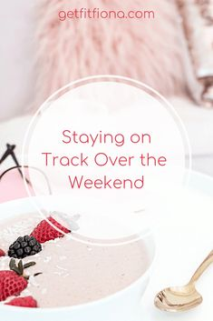 Today I'm sharing some tips and tricks for staying on track with food and fitness over the weekend. Have a plan I find that if I have a plan for what I'll be doing over the weekend, it really helps Healthy Options, Healthy Tips, How To Stay Healthy, Headspace App, Homemade Hamburger Helper, I Have A Plan, Homemade Hamburgers, Group Fitness Classes, Stay On Track