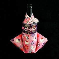 Hello kitty Wine bag Kimono MADE IN JAPAN F/S Present SANRIO from JAPAN