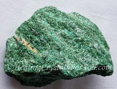 Fuchsite or Green Muscovite Mica known as the Healers Stone as it aids healers. Use in meditation, aids allergy, encourages restful sleep, aids contact with nature spirits.