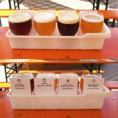 さっぽろオクトーバーフェスト平日限定ドイツビール飲み比べセットあります9/30まで #beer #germanbeer #oktoberfest #sapporo #hokkaido #北海道