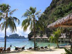 El-nido-resort-palawan -- 5 Bucketlist worthy overwater Bungalows around the World Resorts In Philippines, Visit Philippines, Philippines Travel, Manila, Fort Santiago, Palawan Island, Water Villa, Overwater Bungalows, World Travel Guide
