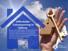 Affordable Conveyancing in Sydney - Are you concerned about conveyancing? Strictly Conveyancing offers effective conveyancing service in Sydney with the aim to provide a complete solution in transferring your property effortlessly at affordable pricing. Call us @ 02 9630 5553. Sydney Area