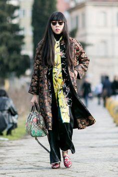Pin for Later: Les Meilleurs Looks Street Style de la Fashion Week de Milan Jour 1 Susie Lau.