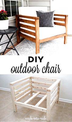 Diy Outdoor Furniture, Outdoor Sofa, Wood Patio Furniture, Furniture Storage, Diy Exterior Furniture, Diy Outdoor Table, Pallet Couch Outdoor, Patio Table, Diy Garden Furniture