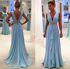 Sparkly Prom Dress, charming a line evening dress chiffon evening dresses long prom dress prom dresses , These 2020 prom dresses include everything from sophisticated long prom gowns to short party dresses for prom. Modest Prom Gowns, Backless Evening Gowns, V Neck Prom Dresses, Evening Party Gowns, Prom Dresses 2017, Chiffon Evening Dresses, Cheap Prom Dresses, Bridesmaid Dresses, Formal Dresses