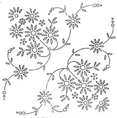 Vintage Embroidery Patterns Vintage iron on embroidery transfer daisy flower corners webco,webber Hand Embroidery Patterns Free, Iron On Embroidery, Embroidery Flowers Pattern, Embroidery Transfers, Vintage Embroidery, Ribbon Embroidery, Floral Embroidery, Flower Patterns, Embroidery Stitches