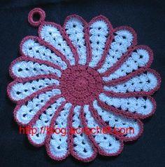 Agarradera, crochet