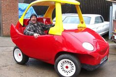 Little Tikes Cozy Coupe toy car full-sized replica
