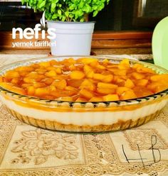 Şeftali Soslu Serinleten Pasta – Nefis Yemek Tarifleri Peach sauce cooling cake # In şeftalisosluserinletenpas the the Fish Recipes, Cake Recipes, Chicken Recipes, Dessert Recipes, Desserts, Pudding Recipes, Turkish Recipes, Asian Recipes, Mexican Food Recipes