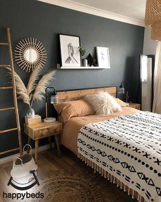 Room Ideas Bedroom, Home Decor Bedroom, Bohemian Bedroom Decor, Western Bedroom Decor, Western Rooms, Bohemian Bedding, Bedroom Signs, Bohemian Interior, Bohemian Living