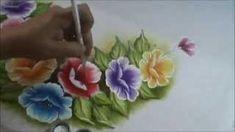 Aprendendo pintar jarro, efeitos, profundidade e luminosidade   Cantinho do Video