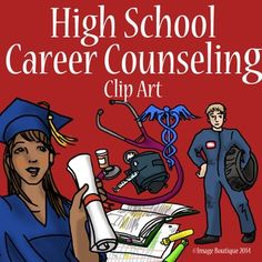 High School Career/Success/College Counseling Clip Art by Image Boutique
