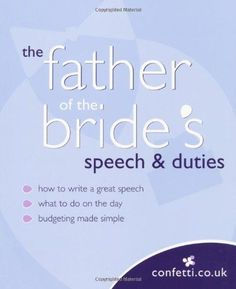Father of the Bride Speeches …   Pinteres…