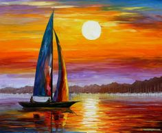 MORNING LIGHT Oil Painting on Canvas by Leonid Afremov