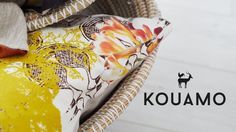 A third collection for this growing lifestyle ethical brand - invite stories of colours and travels into your home #Kouamo