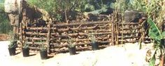Резултат слика за rustic fence ideas