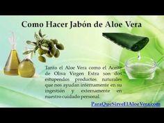 Como Hacer Jabon de Aloe Vera