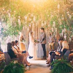 Whimsical Bohemian Wedding Inspiration #wedding #photography