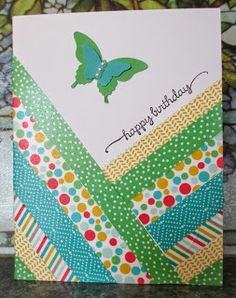 HEARTWARMERS FROM VICKI: *NEW* STAMPIN' UP! WASHI TAPE