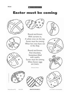Use this Easter-themed poem to capture the joy of an