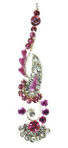 Jazzy Bindi Rose Half Flower
