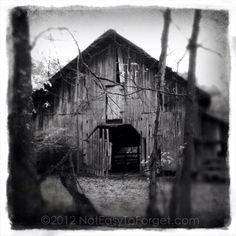 Lonely barn in North GA (Ellijay)
