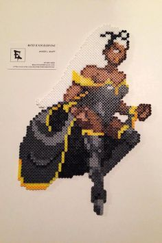 X-Men Storm perler bead design
