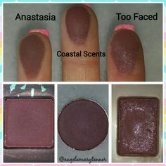 Dupes: Anastasia Beverly Hills beauty mark ($12, also found in the catwalk palette), coastal scents wild raisin ($2) and too faced cherry cordial (chocolate bar palette $49)