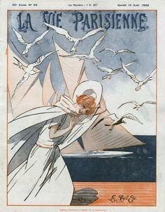 René Préjelan (1877 – 1968). La Vie Parisienne, 19 Août 1922. [Pinned 16-xii-2020] Art, Art Background, Kunst, Performing Arts