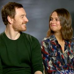 Michael Fassbender joins new beau Alicia Vikander for ...