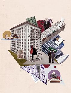 Illustration - Oleg Borodin Collages, Universe, Illustrations, Cards, Beautiful, Design, Collagen, Outer Space, Illustration