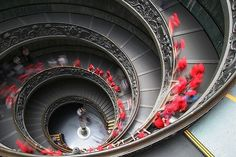 Amazing stairs curves