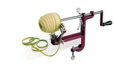 Paderno World Cuisine Apple Peeler with Clamp by Paderno World Cuisine. $55.11. Esay to use. With stainless steel blades. Durable steel body. The machine peels,slices, and cores apples at once. Comes with clamp to securely grip the work surface. The Paderno World Cuisine Apple Peeler peels, slices, and cores at once.  The body is make of steel and the blades of stainless steel. The peeler comes with clamp to securely grip the work surface. Save 90% Off!