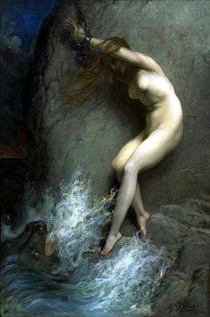Gustave Doré, French, 1832 - 1883, Andromeda