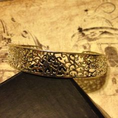 Silver filigree cuff bracelet!!! Gorgeous!!! Beautiful, this filigree silver cuff bracelet is the perfect finishing touch to any outfit!!! Will go with so many different looks and styles. Can be worn dressed up or down!!!! Jewelry Bracelets