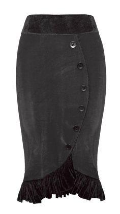 The Violet Vixen - Sasha's Sweet Shorty Black Skirt, $69.00 (http://thevioletvixen.com/clothing/sashas-sweet-shorty-black-skirt/)