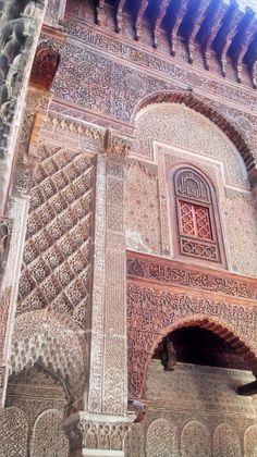 Medersas (islamic schools) Al Attarine Madrasa