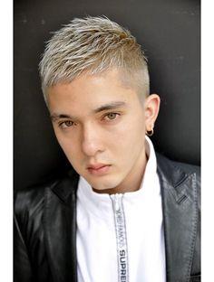Fringe Haircut, Pixie Haircut, Dyed Hair Men, Mens Hair, Short Hair Cuts, Short Hair Styles, Asian Hair, Pixie Cut, Haircuts For Men