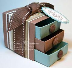 Matchbox 3 drawer dresser box