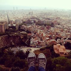 One of my favorite days in Barcelona was spent on Turó de la Rovira. Such an amazing view!